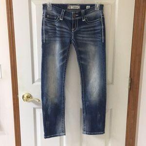 BKE denim Sabrina jeans size 27. Nwot